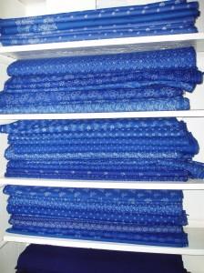 blue dye in meter
